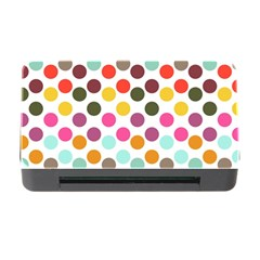 Dotted Pattern Background Memory Card Reader With Cf