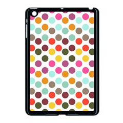 Dotted Pattern Background Apple Ipad Mini Case (black)