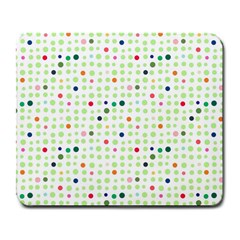 Dotted Pattern Background Full Colour Large Mousepads by Modern2018