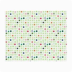 Dotted Pattern Background Full Colour Small Glasses Cloth (2 Side)