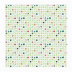 Dotted Pattern Background Full Colour Medium Glasses Cloth (2 Side)