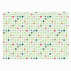 Dotted Pattern Background Full Colour Large Glasses Cloth (2 Side)