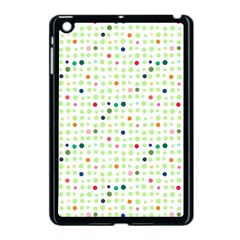 Dotted Pattern Background Full Colour Apple Ipad Mini Case (black) by Modern2018