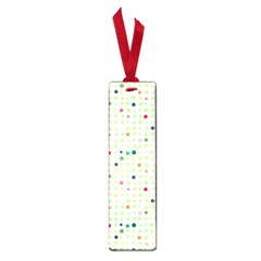 Dotted Pattern Background Full Colour Small Book Marks