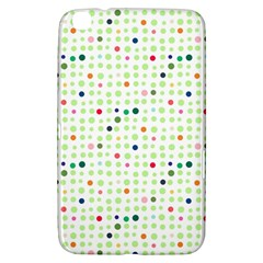 Dotted Pattern Background Full Colour Samsung Galaxy Tab 3 (8 ) T3100 Hardshell Case