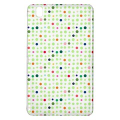 Dotted Pattern Background Full Colour Samsung Galaxy Tab Pro 8 4 Hardshell Case