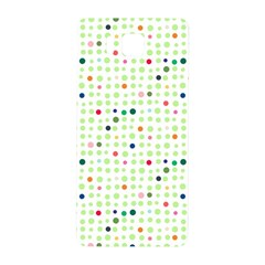 Dotted Pattern Background Full Colour Samsung Galaxy Alpha Hardshell Back Case by Modern2018