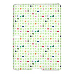 Dotted Pattern Background Full Colour Samsung Galaxy Tab S (10 5 ) Hardshell Case