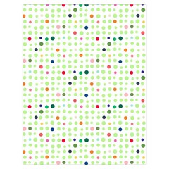 Dotted Pattern Background Full Colour Drawstring Bag (large)
