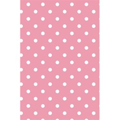 Pink Polka Dot Background 5 5  X 8 5  Notebooks