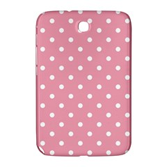 Pink Polka Dot Background Samsung Galaxy Note 8 0 N5100 Hardshell Case