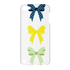 Ribbons And Bows Polka Dots Apple Ipod Touch 5 Hardshell Case