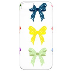 Ribbons And Bows Polka Dots Apple Iphone 5 Classic Hardshell Case