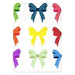 Ribbons And Bows Polka Dots Flap Covers (s)