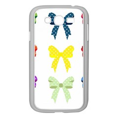 Ribbons And Bows Polka Dots Samsung Galaxy Grand Duos I9082 Case (white)