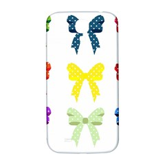 Ribbons And Bows Polka Dots Samsung Galaxy S4 I9500/i9505  Hardshell Back Case