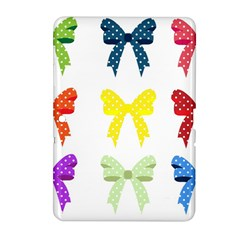 Ribbons And Bows Polka Dots Samsung Galaxy Tab 2 (10 1 ) P5100 Hardshell Case