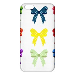 Ribbons And Bows Polka Dots Iphone 6 Plus/6s Plus Tpu Case