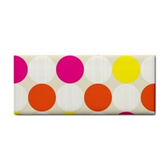 Polka Dots Background Colorful Cosmetic Storage Cases