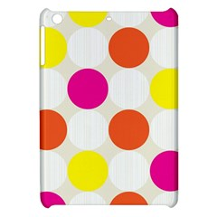 Polka Dots Background Colorful Apple Ipad Mini Hardshell Case