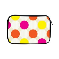 Polka Dots Background Colorful Apple Ipad Mini Zipper Cases by Modern2018
