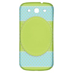 Lace Polka Dots Border Samsung Galaxy S3 S Iii Classic Hardshell Back Case by Modern2018