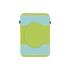 Lace Polka Dots Border Apple Ipad Mini Protective Soft Cases