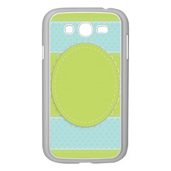 Lace Polka Dots Border Samsung Galaxy Grand Duos I9082 Case (white)