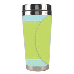 Lace Polka Dots Border Stainless Steel Travel Tumblers
