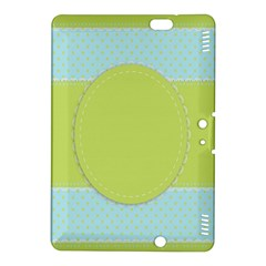 Lace Polka Dots Border Kindle Fire Hdx 8 9  Hardshell Case