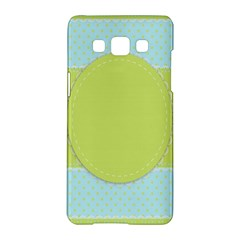 Lace Polka Dots Border Samsung Galaxy A5 Hardshell Case