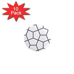 Cairo Tessellation Simple 1  Mini Magnet (10 Pack)