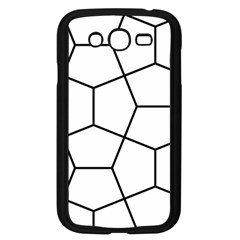 Cairo Tessellation Simple Samsung Galaxy Grand Duos I9082 Case (black)