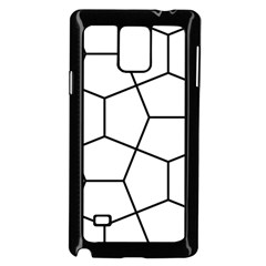 Cairo Tessellation Simple Samsung Galaxy Note 4 Case (black)