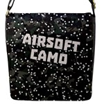 AIRSOFT CAMO Flap Closure Messenger Bag (Small)
