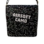 AIRSOFT CAMO Flap Closure Messenger Bag (L)