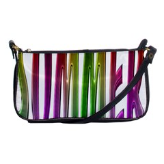 Summer Colorful Rainbow Typography Shoulder Clutch Bags
