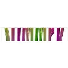 Summer Colorful Rainbow Typography Small Flano Scarf