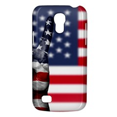 United State Flags With Peace Sign Galaxy S4 Mini