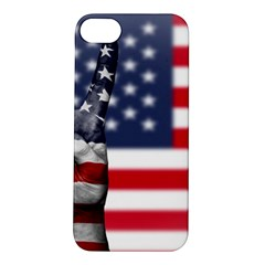 United State Flags With Peace Sign Apple Iphone 5s/ Se Hardshell Case