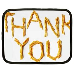 Thank You French Fries Netbook Case (xxl)