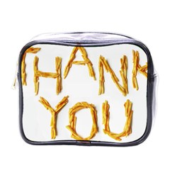 Thank You French Fries Mini Toiletries Bags by goodart
