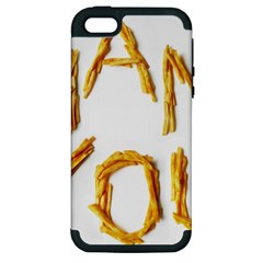 Thank You French Fries Apple Iphone 5 Hardshell Case (pc+silicone)