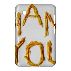 Thank You French Fries Samsung Galaxy Tab 2 (7 ) P3100 Hardshell Case