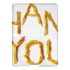 Thank You French Fries Samsung Galaxy Tab S (10 5 ) Hardshell Case