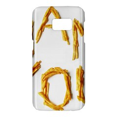 Thank You French Fries Samsung Galaxy S7 Hardshell Case