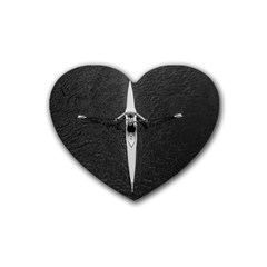 Rower Heart Coaster (4 Pack)