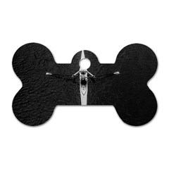 Rower Dog Tag Bone (two Sides)