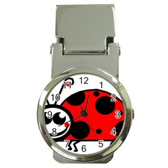 Lady Bug Clip Art Drawing Money Clip Watches