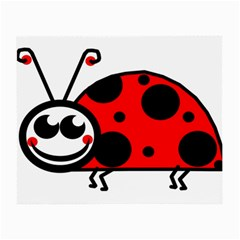 Lady Bug Clip Art Drawing Small Glasses Cloth (2 Side)
